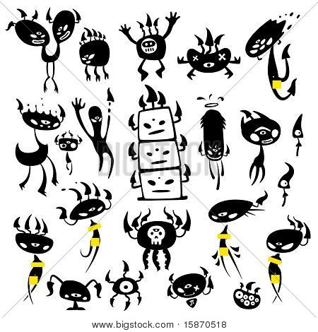 mushroom monsters