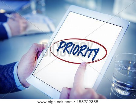 Priority Effectivity Urgency Important Tasks Rank Concept