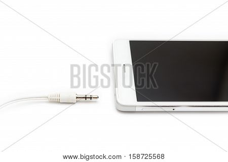 Smartphone And Audio Cable Disconnected