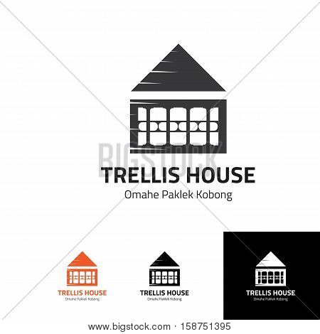 trellis house logo for any safety house things such as building contractor, consultant, residence, hardware shop or any others