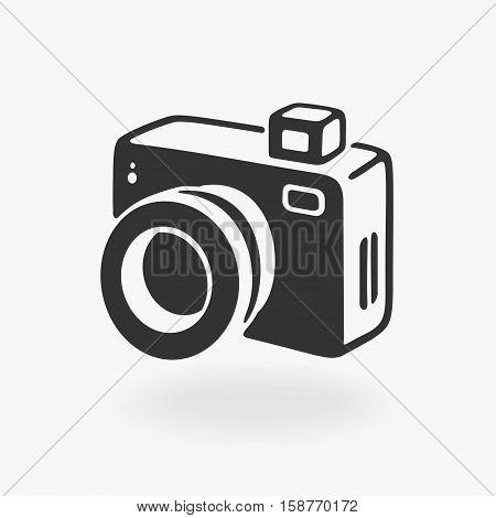 Vector Photo Camera Icon eps 8 file format