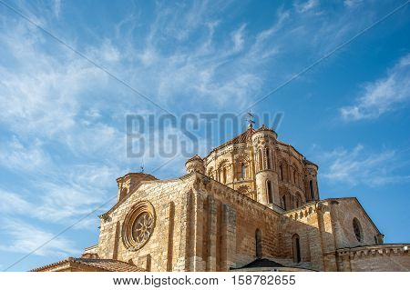 Romanesque Cathedral in the town of Toro, Zamor,a Spain