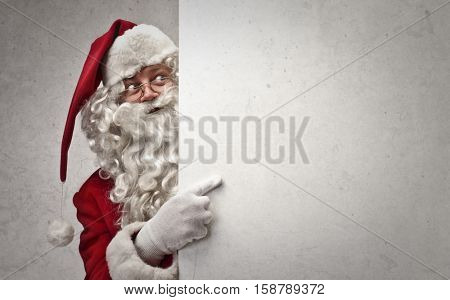 Santa checking on you