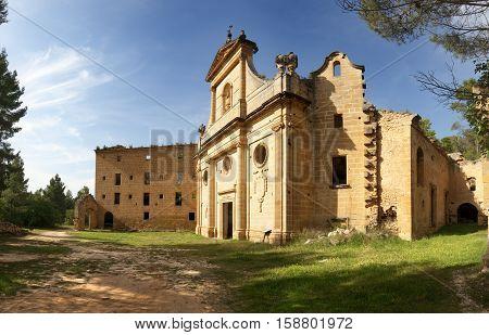 Old Gracia Virgin Convent. Teruel province. Spain