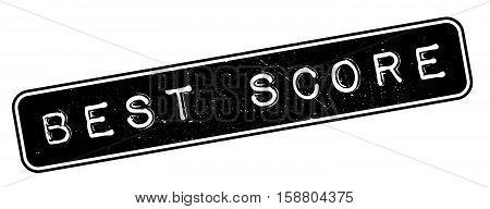 Best Score Rubber Stamp