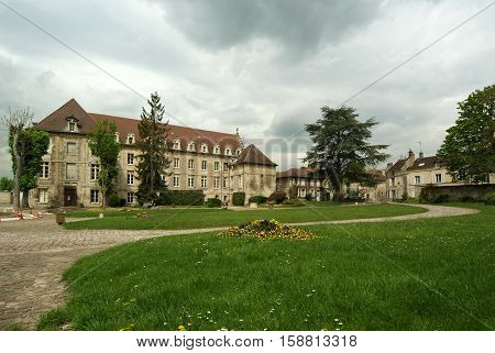 France, Senlis, Picardy, Oise--- Saint Vincent Abbey Was Founded In 1065 By The Queen Anne De Kiev A
