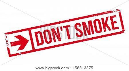 Don't Smoke Stamp
