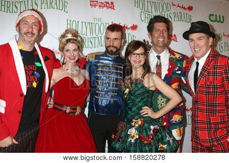 LOS ANGELES - NOV 27:  Band Of Merrymakers at the 85th Annual Hollywood Christmas Parade at Hollywood Boulevard on November 27, 2016 in Los Angeles, CA