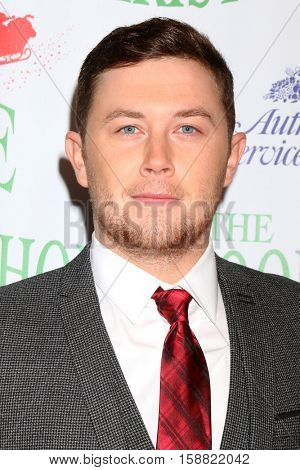 LOS ANGELES - NOV 27:  Scotty McCreery at the 85th Annual Hollywood Christmas Parade at Hollywood Boulevard on November 27, 2016 in Los Angeles, CA