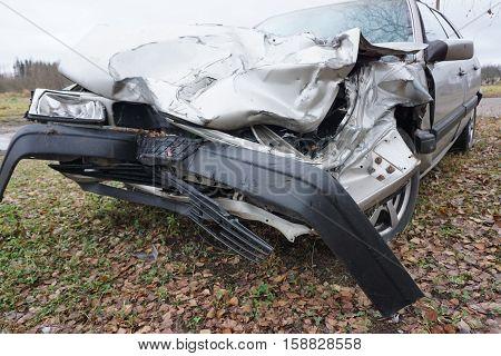 Car Crash Background