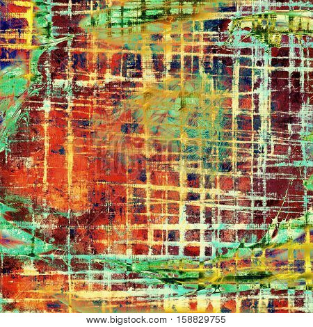 Nice looking grunge texture or abstract background. With different color patterns: yellow (beige); brown; green; blue; red (orange); purple (violet)