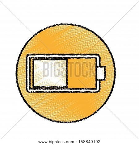 Battery full recharge icon vector illustration graphic design
