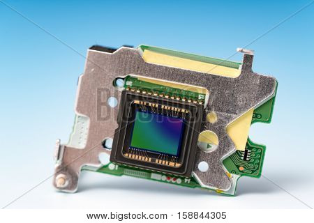 The concept of the development of modern light-sensitive CCD sensor