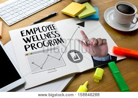 Employee Wellness Program And Managing Employee Health , Employee Wellness Concept