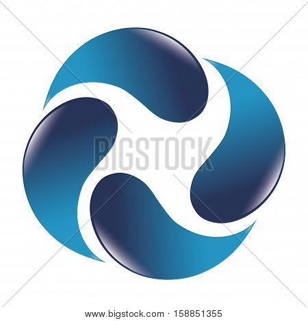 water drops around icon vector illustration design