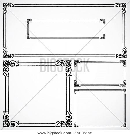 Vector Matching Frame Set