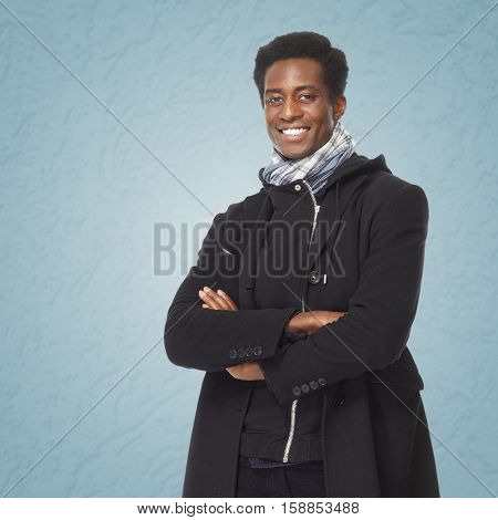 Afro american man.