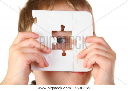 Boy With Hole Puzzle