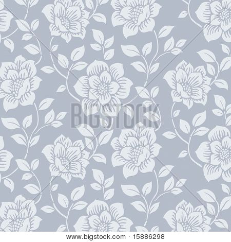 Vektor Seamless Floral Pattern