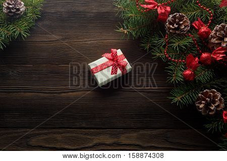 Christmas Wooden Image Photo Free Trial Bigstock