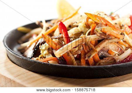 Asian Style Vegetable Stir-Fry