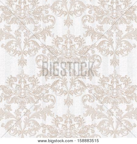Vintage Baroque Delicate Pattern