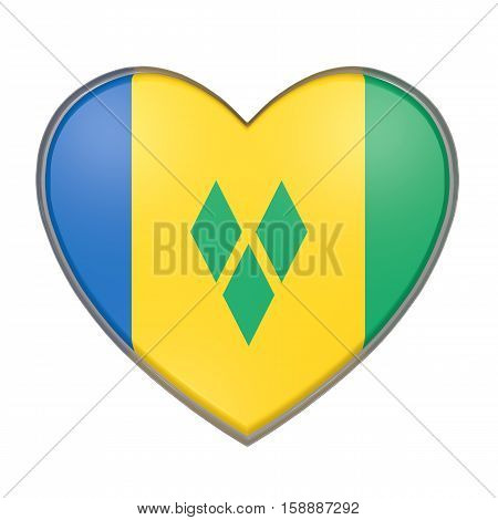 Saint Vincent And The Grenadines Heart