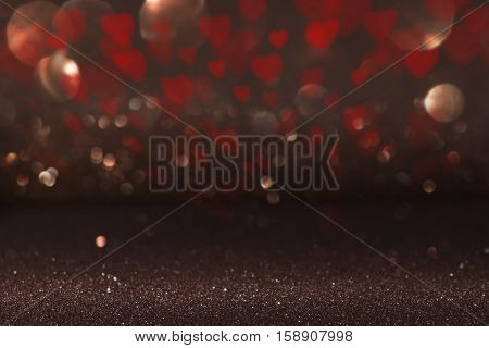 Beautiful Valentines day background with hearts for a concept