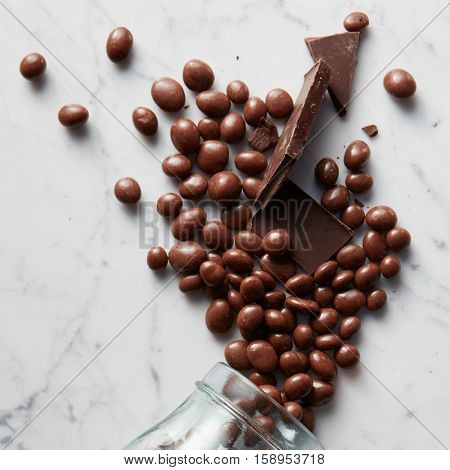sweet chocolate balls
