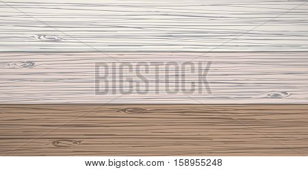 Set of different color wooden planks, or wall, table, floor surface. Cutting chopping board. Wood texture