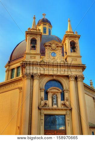 Church of San Gabriel and Santa Gema in Irun - Spain.