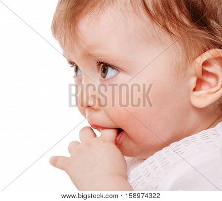 Girl Sucking Finger