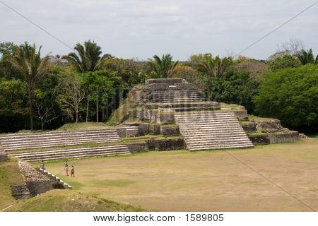Mayan Ruins At Altun Ha, Belize