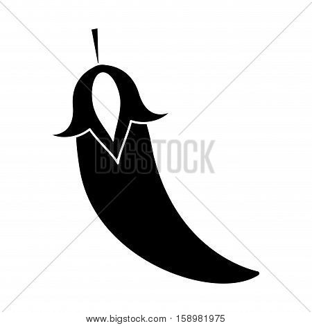 pictogram chili pepper culinary food vector illustration eps 10