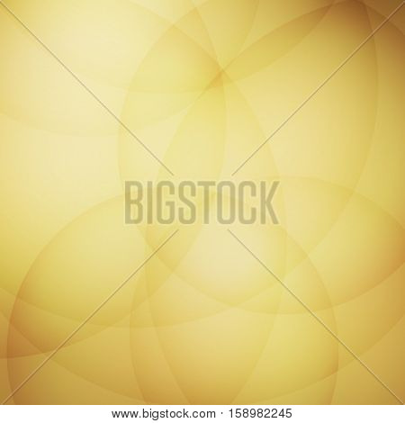 Curve element with yellow background, stock vector