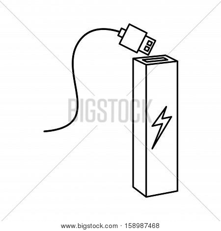 backup energy supply icon vector illustration design