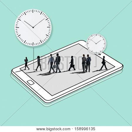 Time Management Duration Schedule Punctual Concept