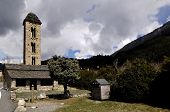 Romanesque church of Sant Miquel d'Engolasters Escaldes-Engordany Andorra poster