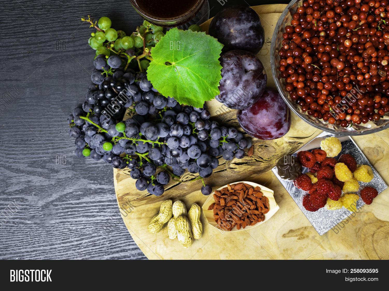 Food Rich Resveratrol Image Photo Free Trial Bigstock