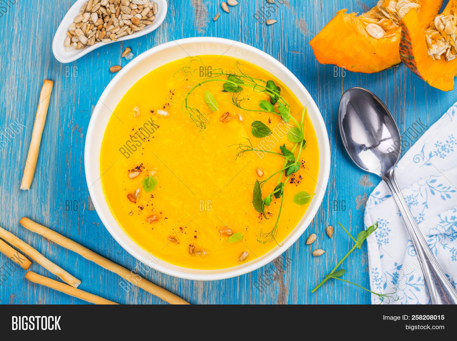 Hot Spice Pumpkin Soup Image & Photo (Free Trial) | Bigstock