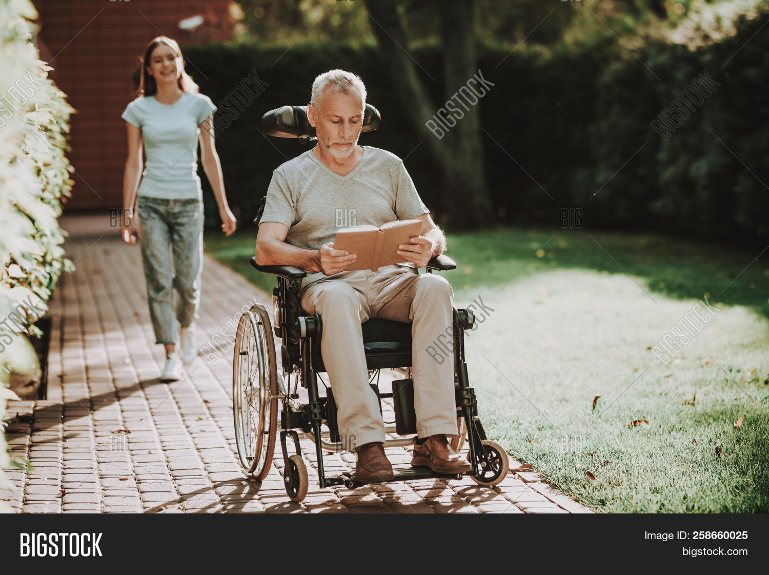 Rehabilitation Old Man Image Photo Free Trial Bigstock