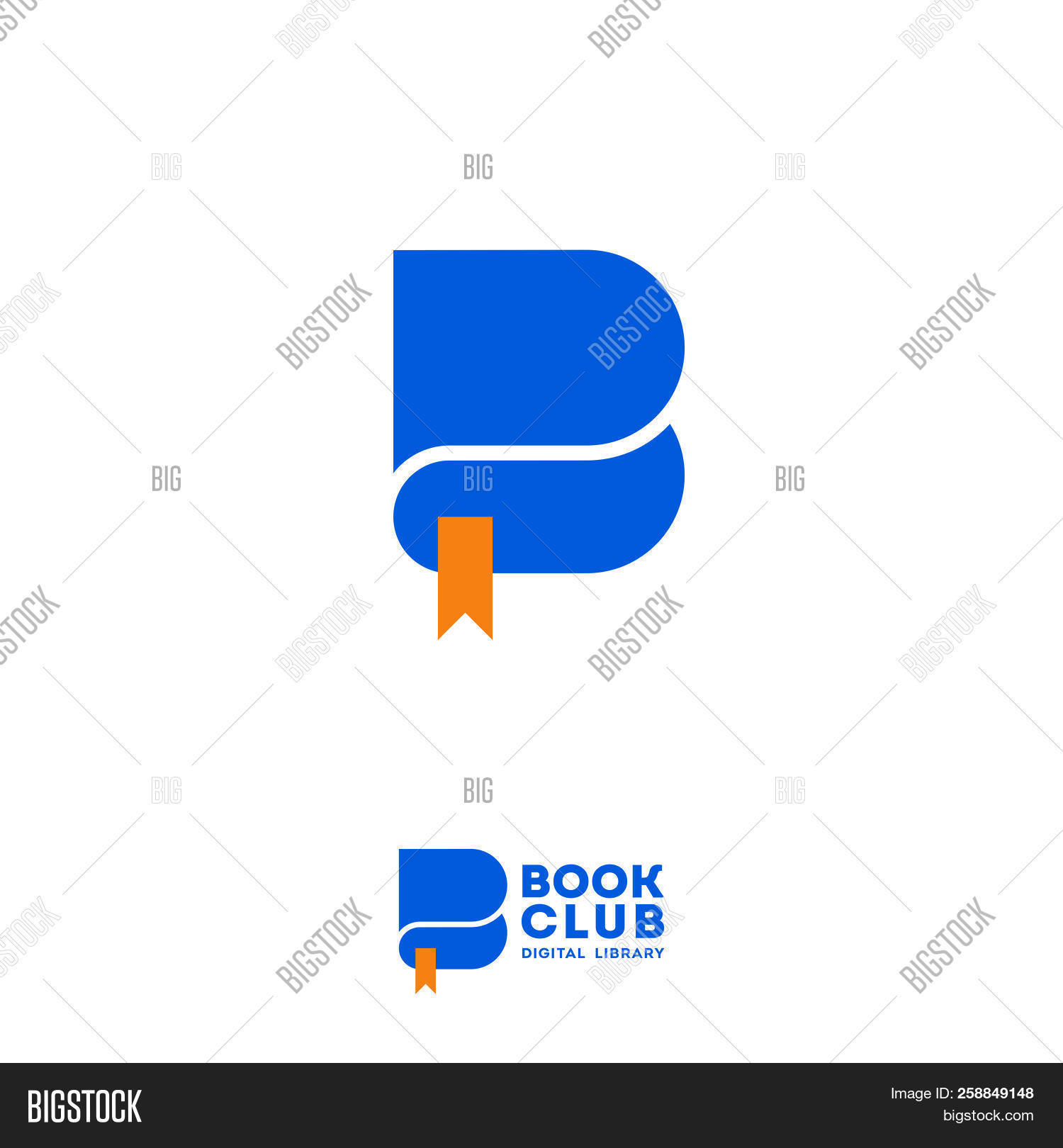 B Letter Book Club Vector Photo Free Trial Bigstock