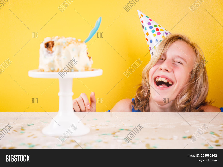 Stupendous Teenage Girl Enjoying Image Photo Free Trial Bigstock Birthday Cards Printable Opercafe Filternl