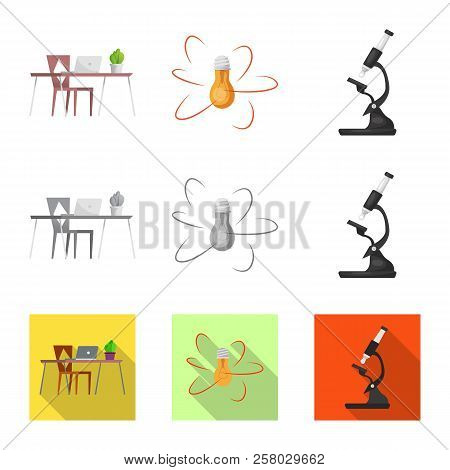 Vector Design Of Education And Learning Logo. Set Of Education And School Vector Icon For Stock.