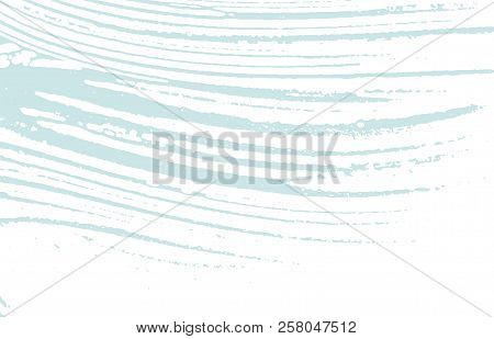 Grunge texture. Distress blue rough trace. Bizarre background. Noise dirty grunge texture. Energetic artistic surface. Vector illustration. poster