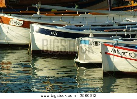 Fishing Boats In Cassis
