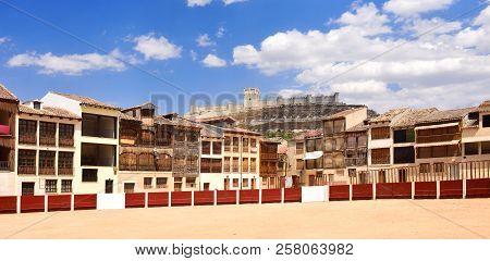 El Coso Square Of Penafiel, Valladolid Province, Castilla-leon, Spain