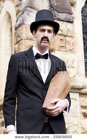 Undertaker Undertaking A Coffin
