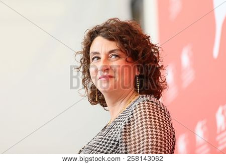 Noemie Lvovsky attends 'One Nation One King (Un Peuple Et Son Roi)' photocall during the 75th Venice Film Festival at Sala Casino on September 7, 2018 in Venice, Italy.