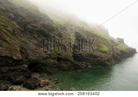 Mysterious Merlin Cave - Tintagel - England